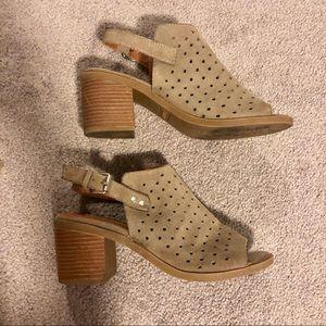 Steve Madden Ginelle peep toe chunky heels